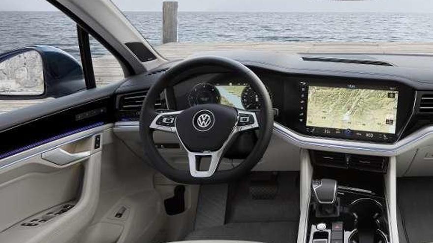 Touareg, atractivo SUV Premium con aspecto robusto
