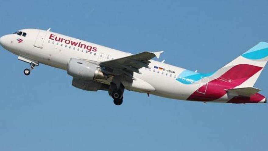 Eurowings vuela de nuevo a Canarias desde cinco aeropuertos alemanes