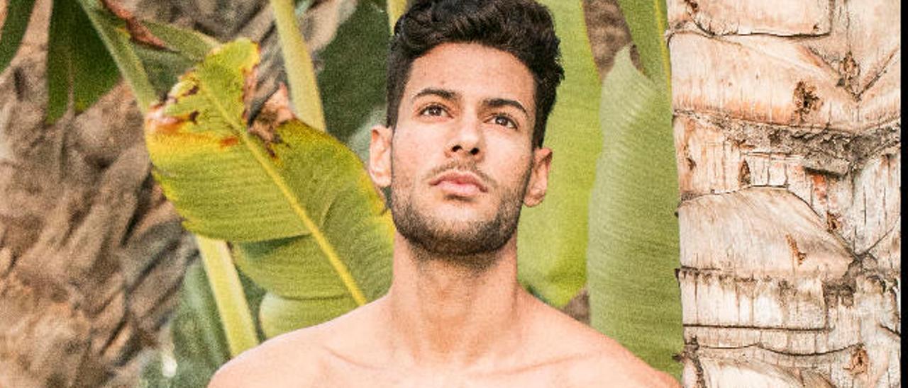 Rubén González, ayer en el hotel Riu Oasis de Maspalomas.