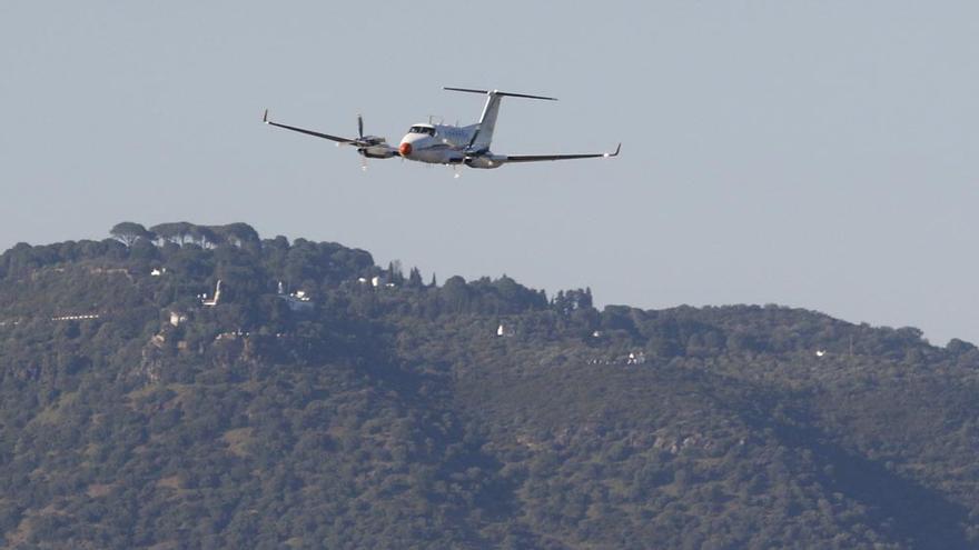 Un avión laboratorio de Aena hace un mapa del cielo de Córdoba