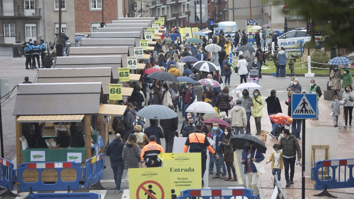 En imágenes: así celebró Oviedo la feria de la Ascensión hoy sábado