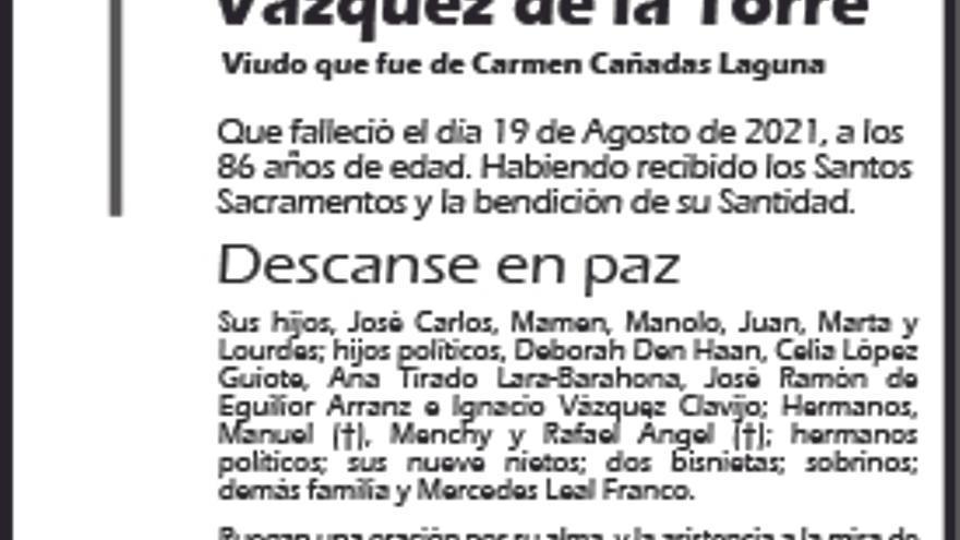 José Carlos Caballero Vázquez de la Torre