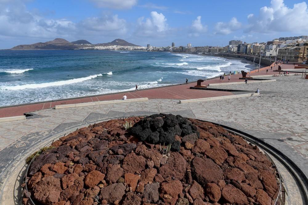 Tiempo En La Playa De Las Canteras La Provincia
