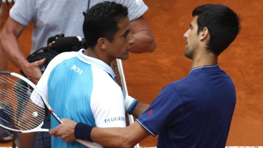 Almagro cae tras poner en aprietos a Djokovic