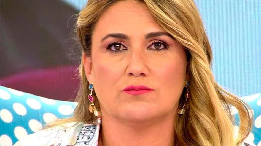 Alarma per l'estat de salut de Carlota Corredera i la seva possible sortida de 'Sálvame'