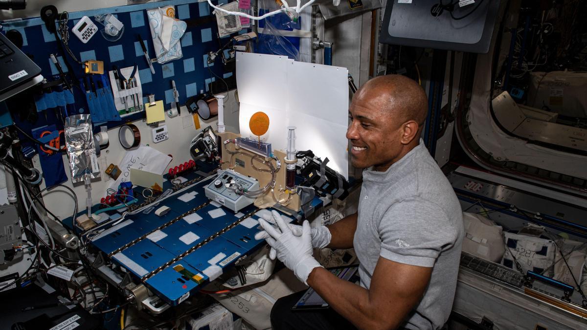 Los astronautas, preparados