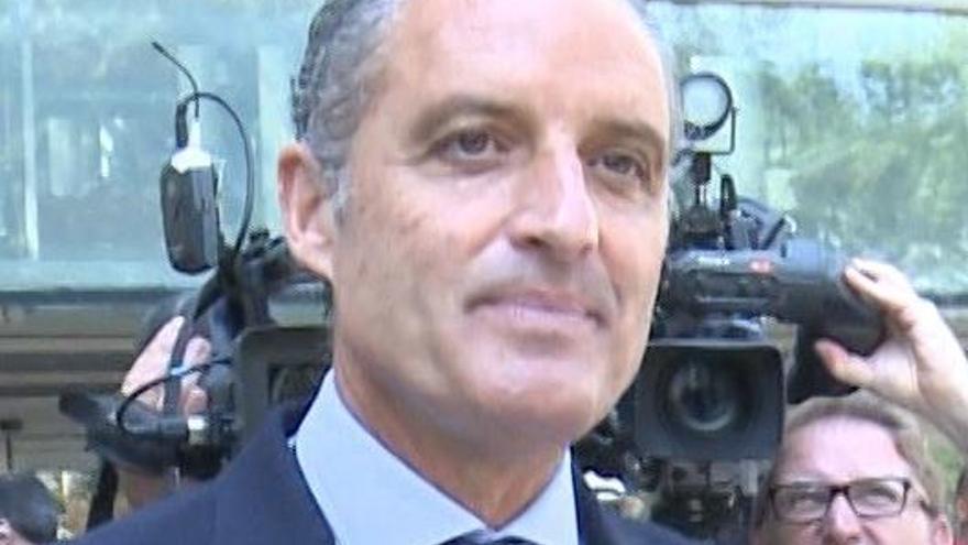 La Generalitat valenciana recurre el archivo del Caso Valmor para Francisco Camps