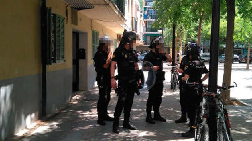 """Nueve detenidos por traer """"speed"""" a Mallorca"""