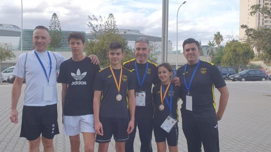 Dues medalles de plata del Tae Sport a València