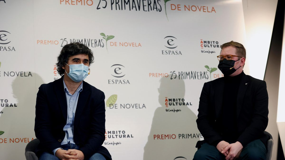 Pedro Simón y Dimas Prychyslyy.