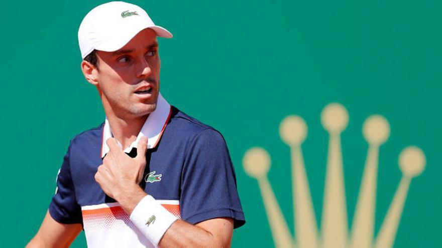 Bautista ya está en cuartos de final en el torneo de Lyon