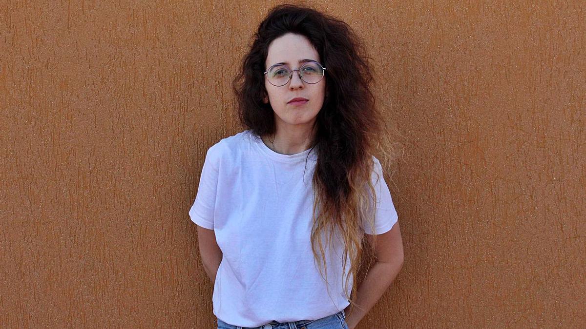 Andrea Martínez, ganadora de la autoría en Ultramar.   LEVANTE-EMV