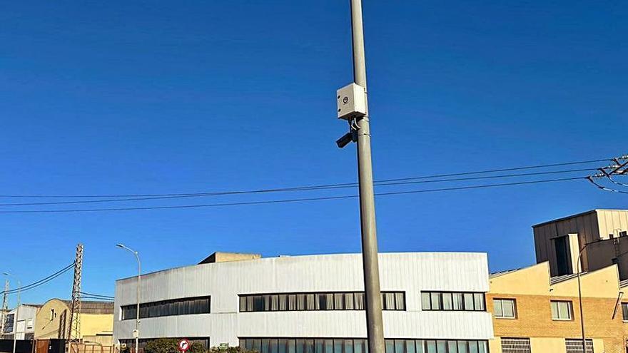 Paterna instala la red de cámaras en dos polígonos