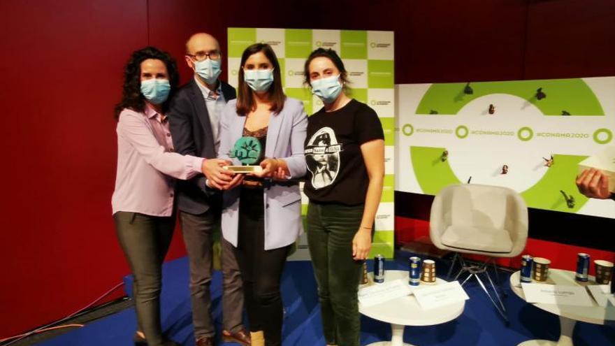Moaña recibe el premio de desarrollo sostenible por sumar al compostaje a un millar de familias