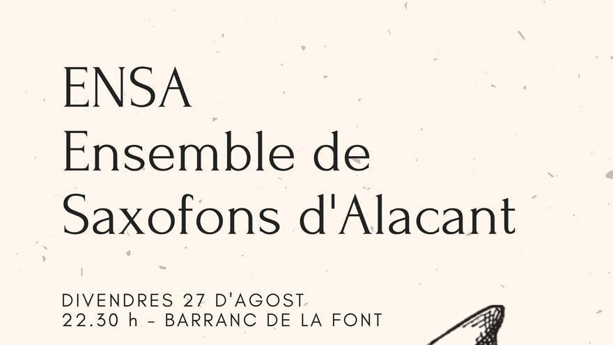 Ensemble de Saxofons d'Alacant