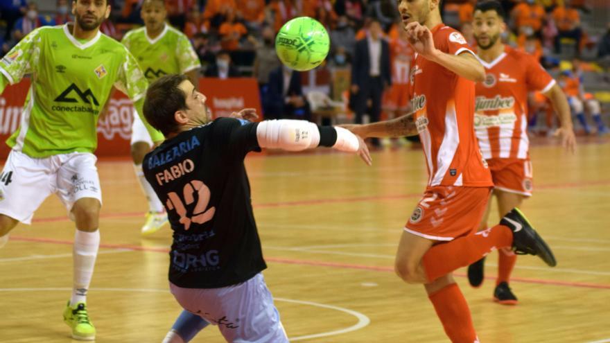 El Palma Futsal se deja remontar tres veces por el Cartagena