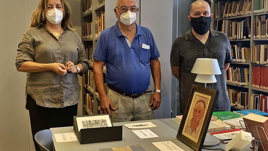 Libros, monedas y pinturas para el Arxiu Històric d'Eivissa i Formentera