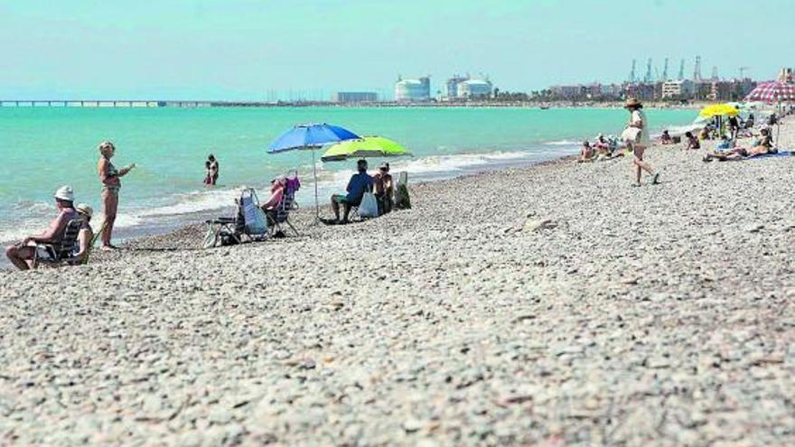 Guerra en primera línea de playa