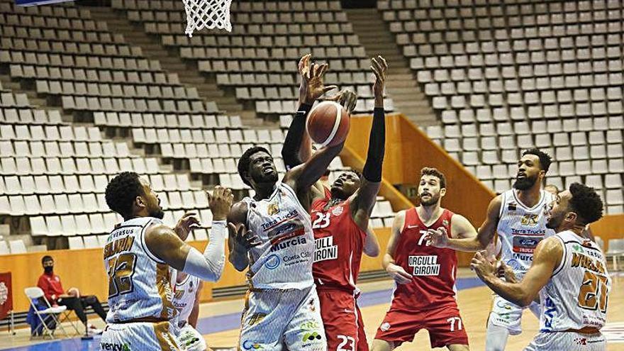 Gener atapeït per al Bàsquet Girona