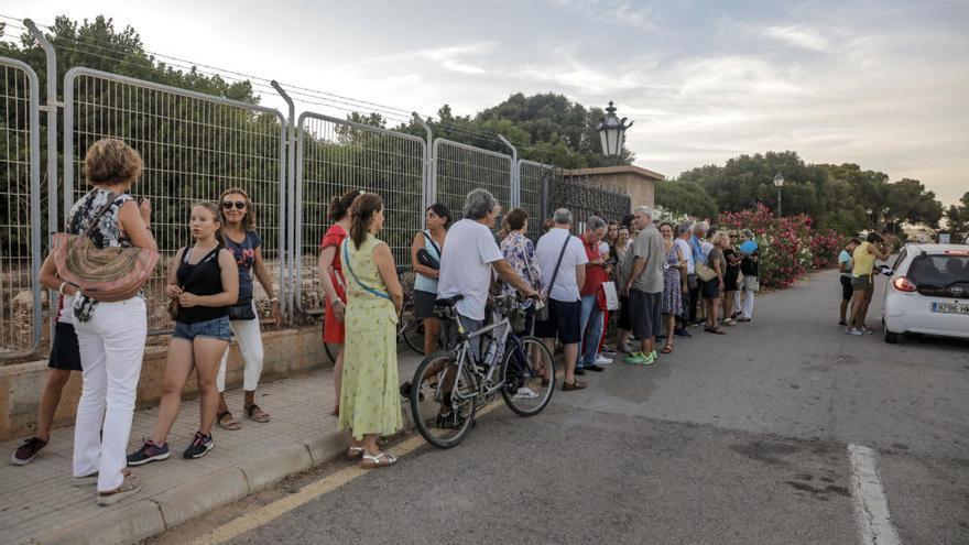 Eclipse total de luna: Fascinación por la luna roja en Mallorca