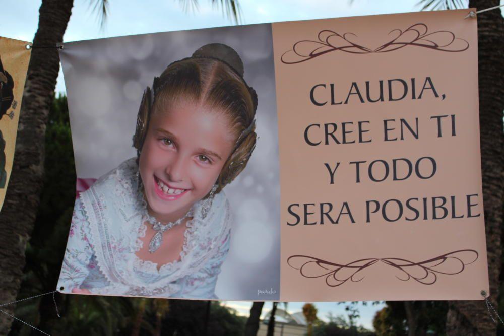 Un cartel con mensaje.