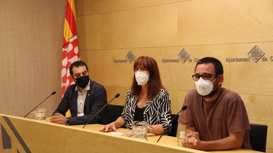 Les forces independentistes de Girona exigeixen l'alliberament immediat de Puigdemont