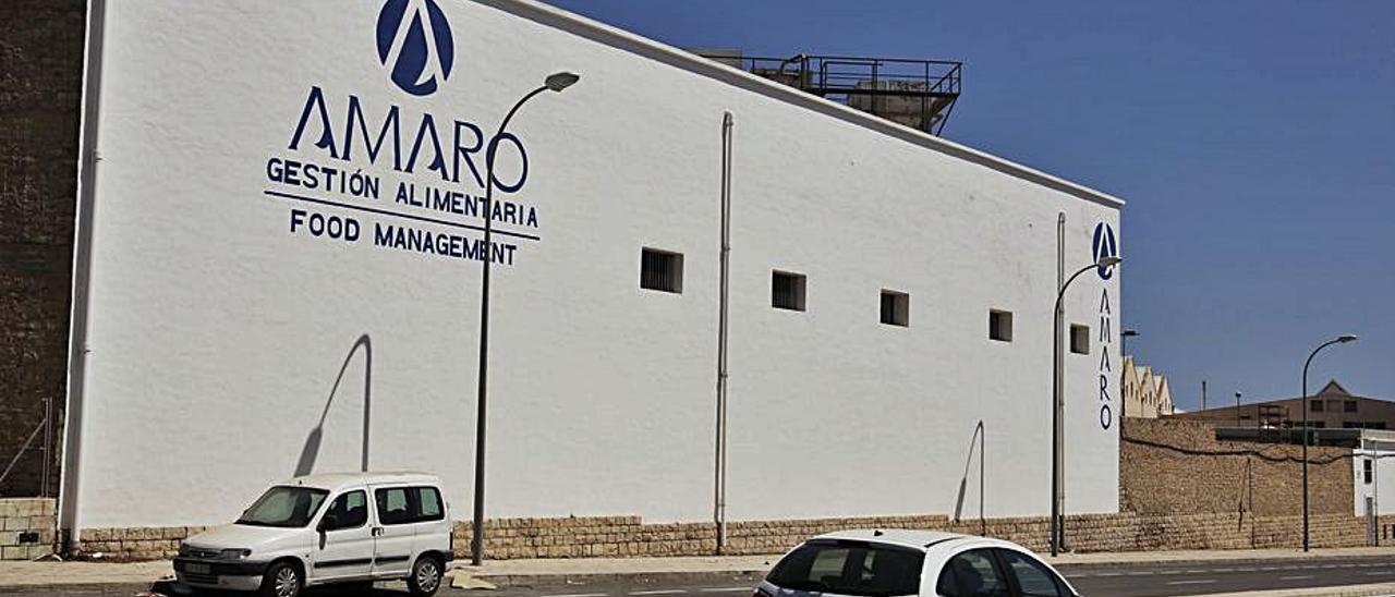 Las instalaciones del Grupo Amaro