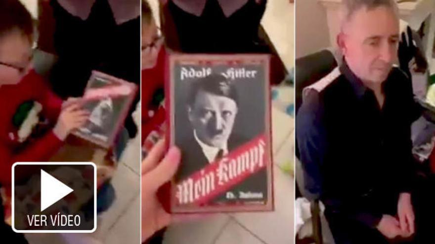 Regala a su nieto el 'Mein Kampf' de Hitler al confundirlo con el videojuego 'Minecraft'