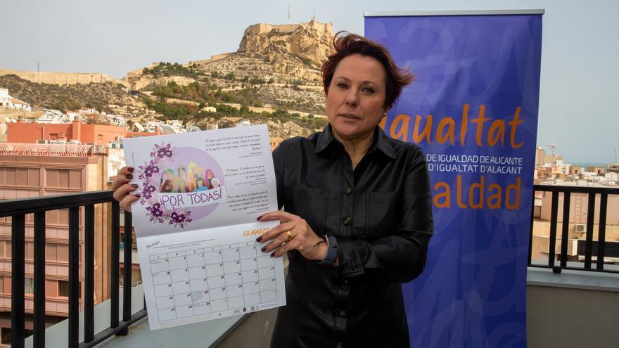 Un calendario por la igualdad en Alicante se convierte en material docente para la Unesco