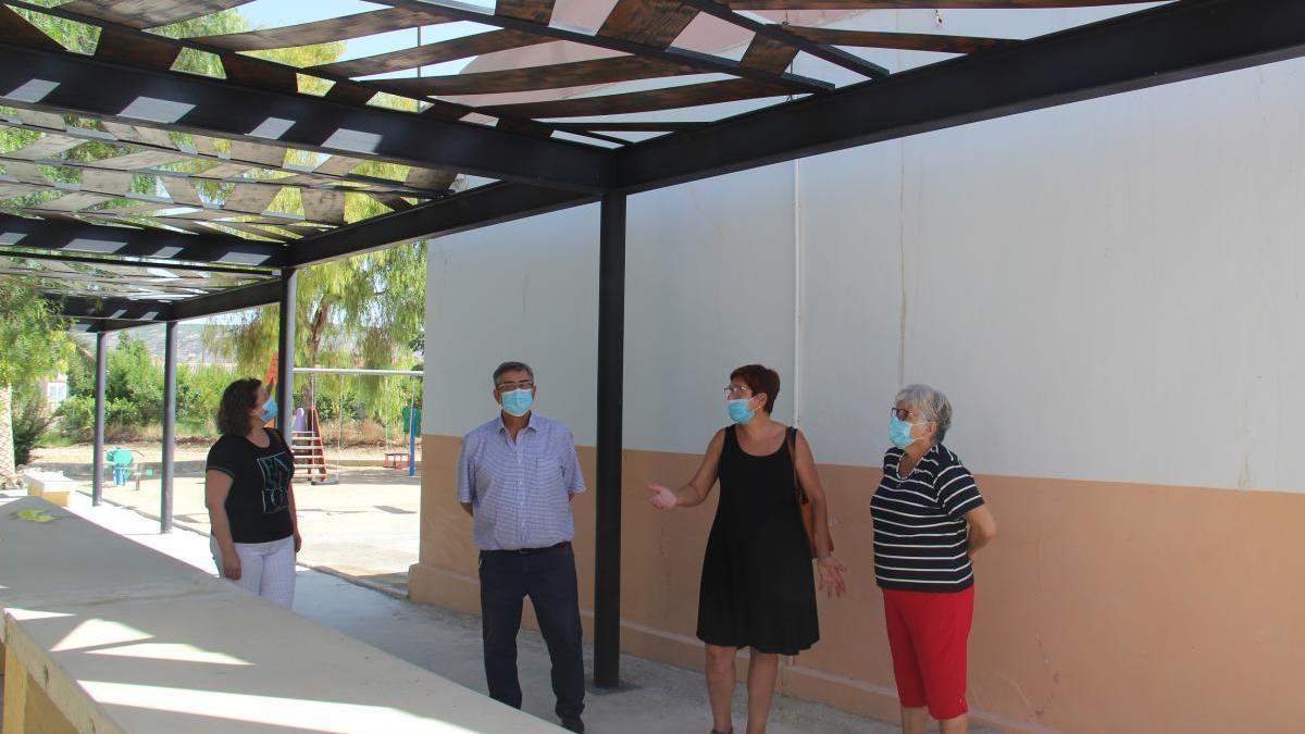 Finalizan las obras del local social de Las Encebras en Jumilla