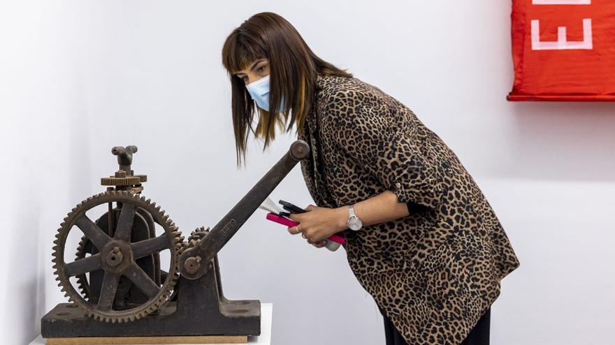 Alcoy cede parte de su patrimonio industrial a una exposición del IVAM