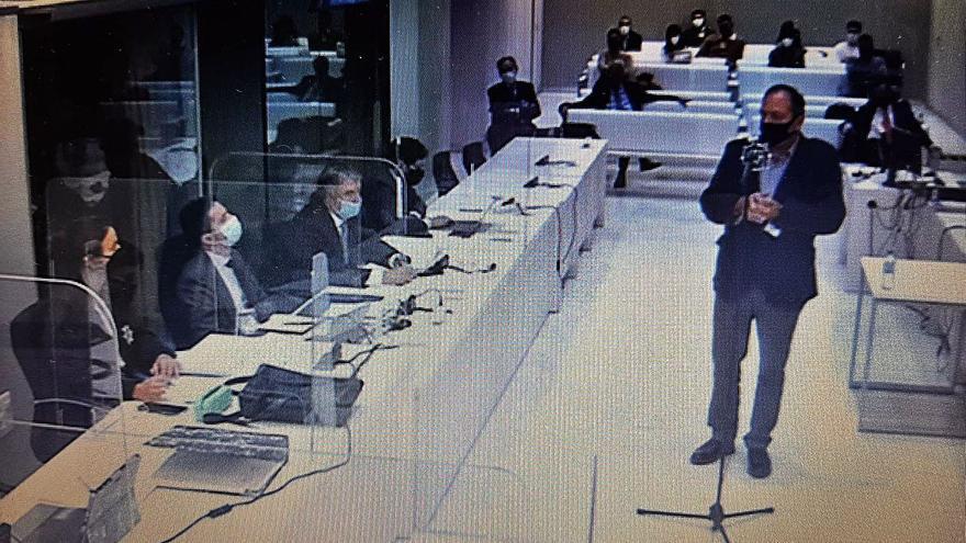 La acusación cuestionala formación de los consejeros de Sa Nostra