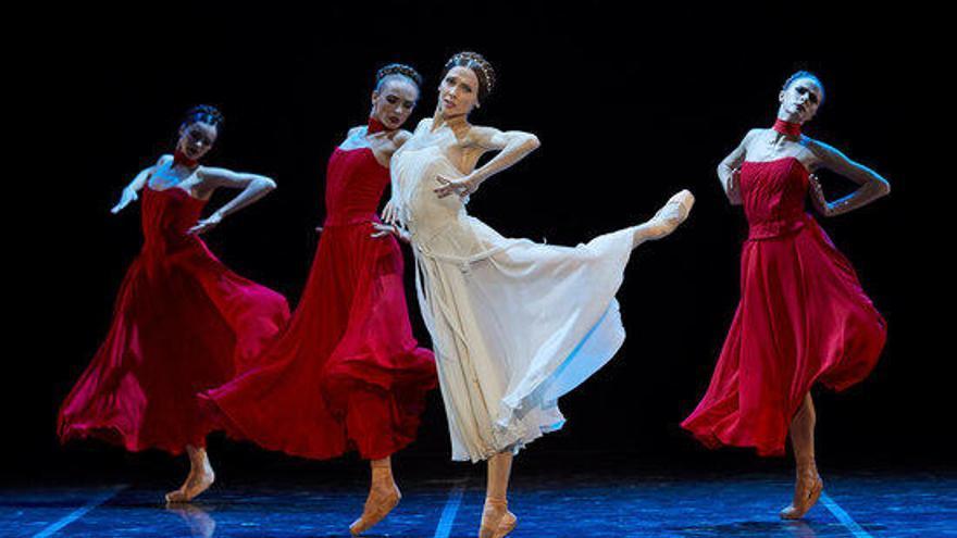 Svetlana Zakharova i les estrelles del Teatre Bolshoi s'estrenen amb èxit a Peralada