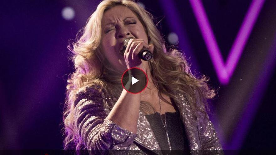 Adiós a la final y al sueño de la mallorquina Adriana Ceballos en 'La Voz Senior'