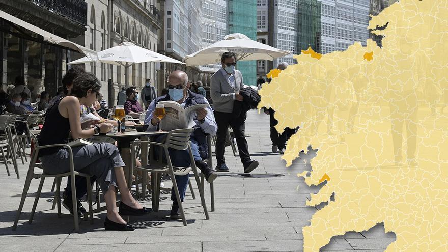 Galicia libera los espacios al aire libre de mascarillas y relaja más los aforos
