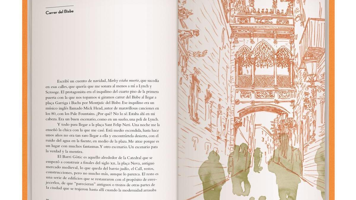 Una imatge del llibre «Tintablanca Barcelona»