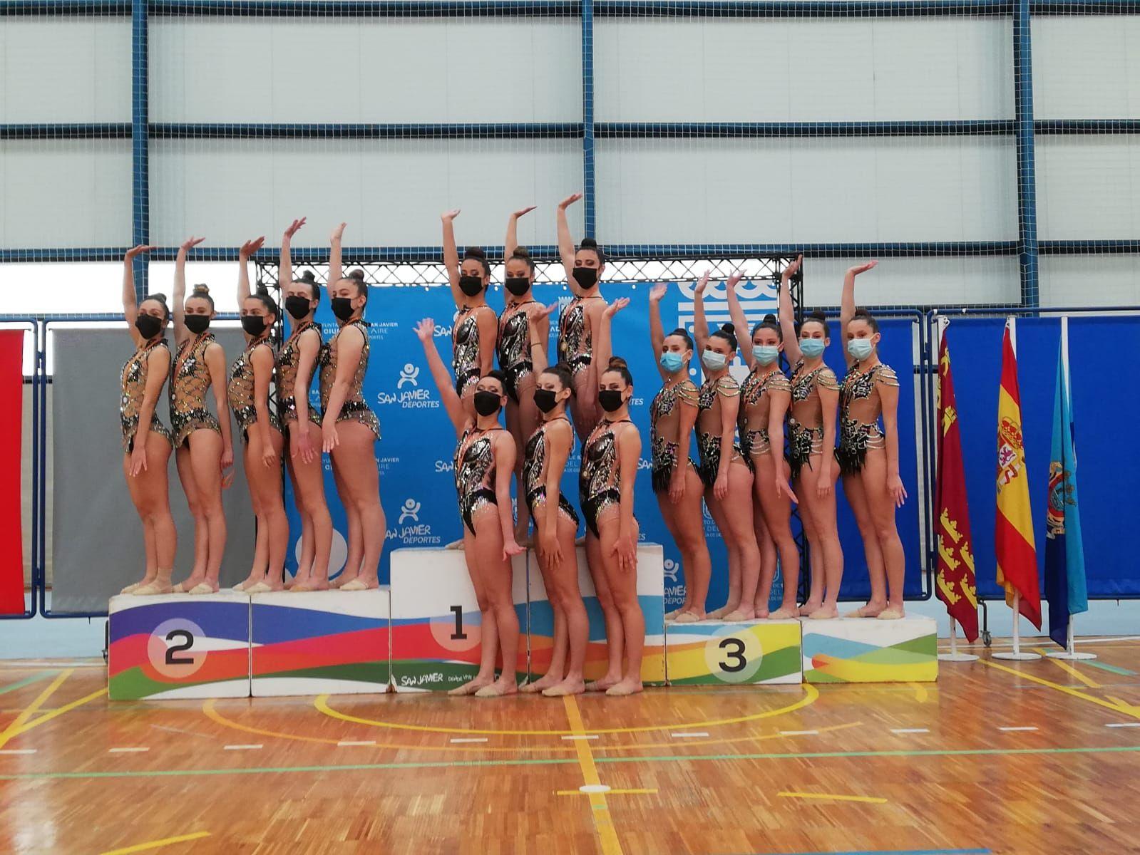 Regional de gimnasia rítmica en San Javier
