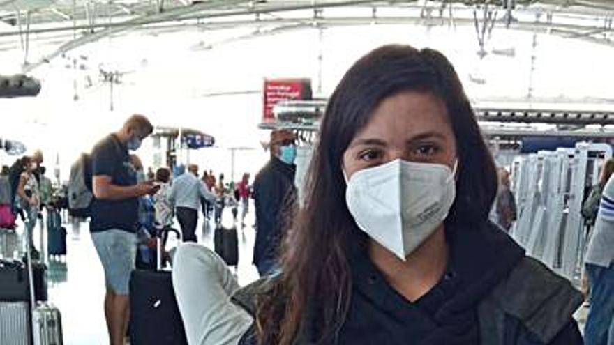 """Mercedes Álvarez: """"Físicamente iré sola, pero este viaje lo hacemos todos"""""""