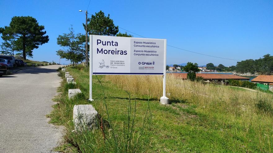 El espacio museístico de Punta Moreiras se da a conocer
