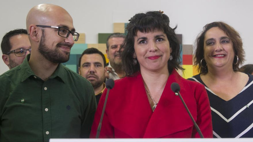 "Teresa Rodríguez construirá ""un sujeto político andaluz"""