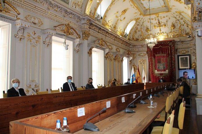Pleno del Ayto de Las Palmas de Gran Canaria (30/4/2021)