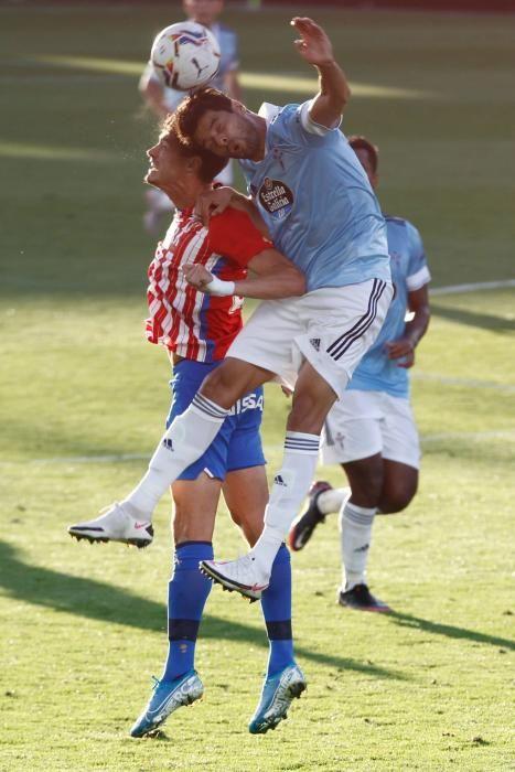 El Celta empata en el último test antes de LaLiga. // Ricardo Grobas