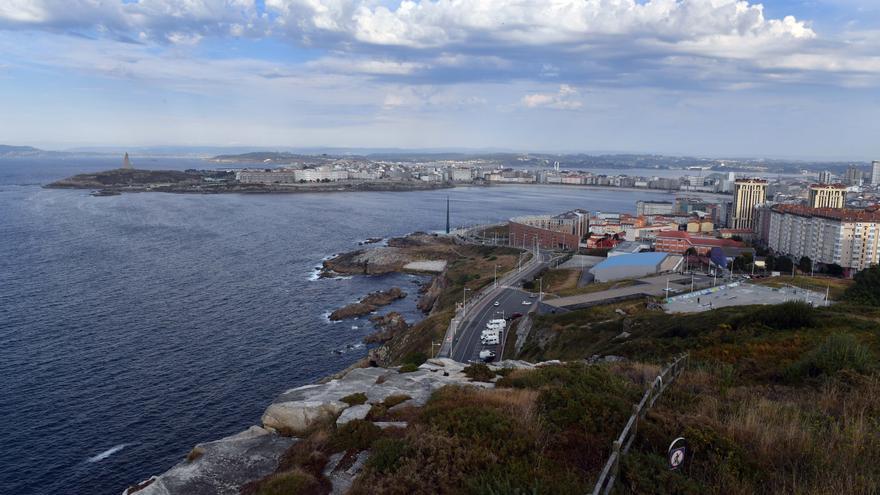 La última semana de octubre comienza en A Coruña con tiempo seco y acabará con lluvia