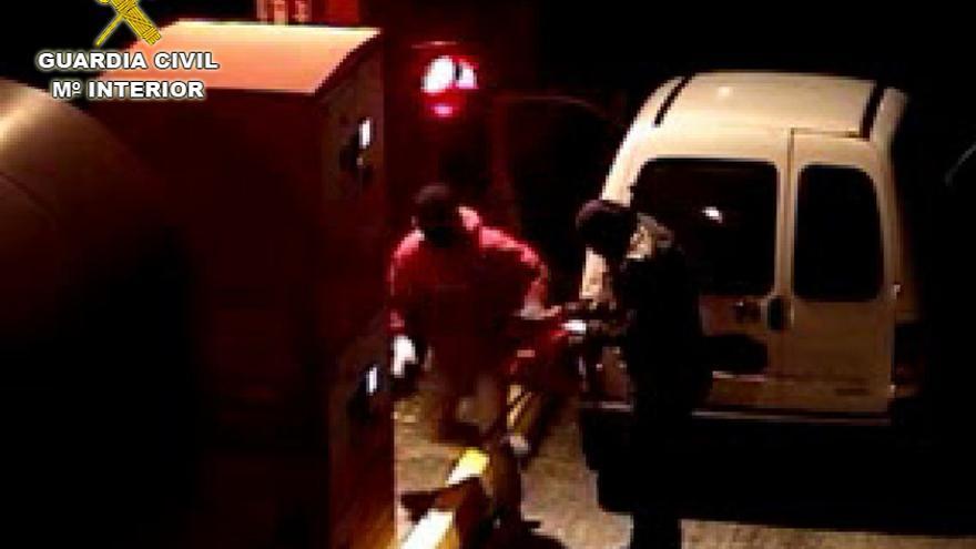 Identificadas cinco personas por diez robos en cabinas de peaje