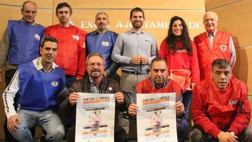 Pilota solidària al trinquet del Sindical de Castelló