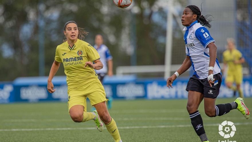 El Villarreal Femenino sucumbe ante el Alavés (2-0)