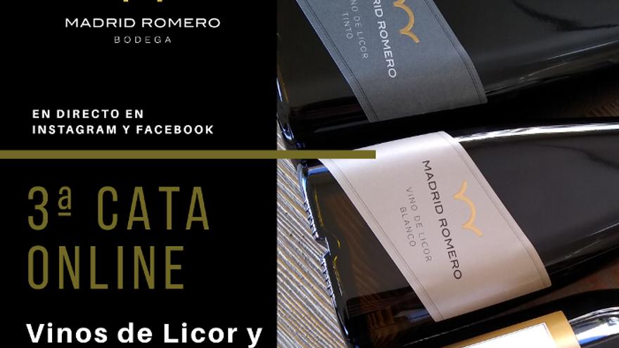 Catas virtuales de Bodega Madrid Romero