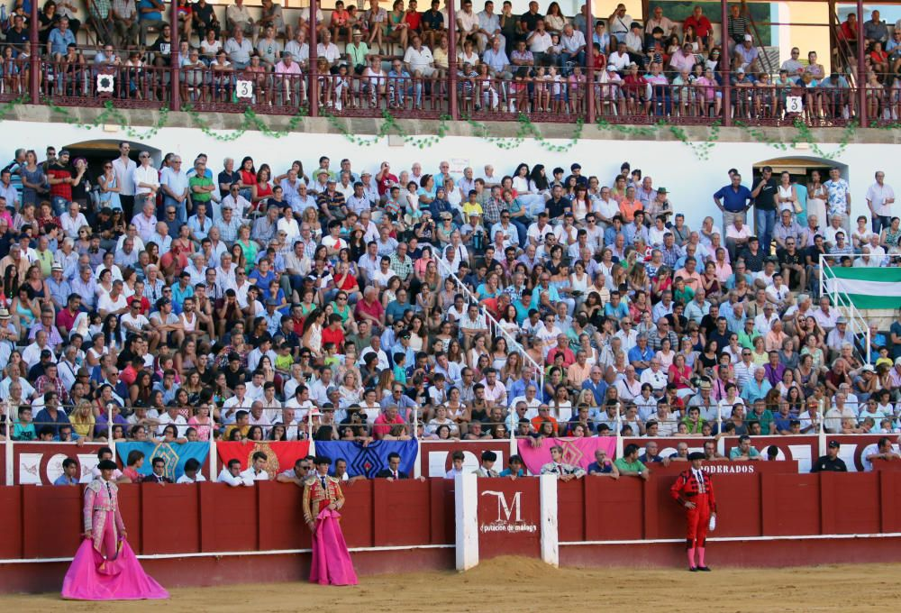 Más de veinte mil personas han pasado desde el pasado miércoles por los tendidos de La Malagueta, que este viernes acogía la última semifinal
