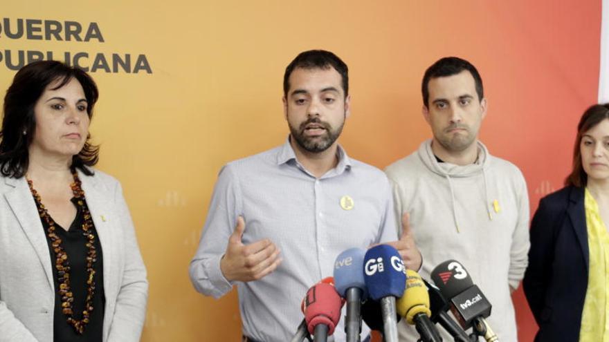 ERC proposa un pacte amb JxCat i Guanyem a Girona i Salellas insisteix en el canvi