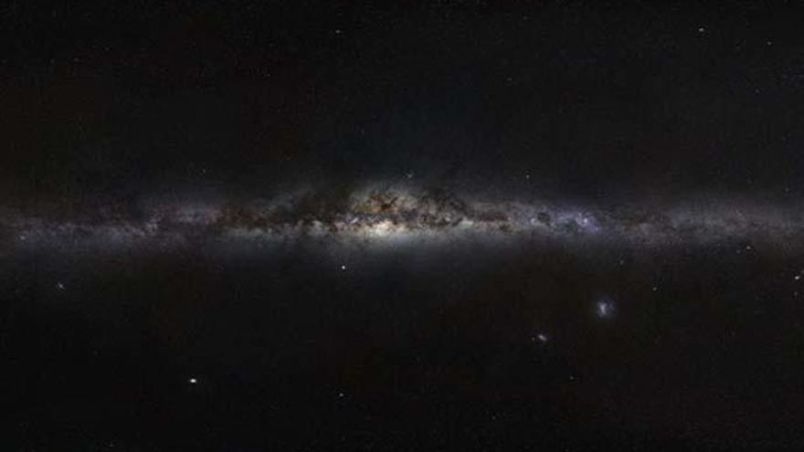 La Vía Láctea se extiende hasta los 62.000 años luz